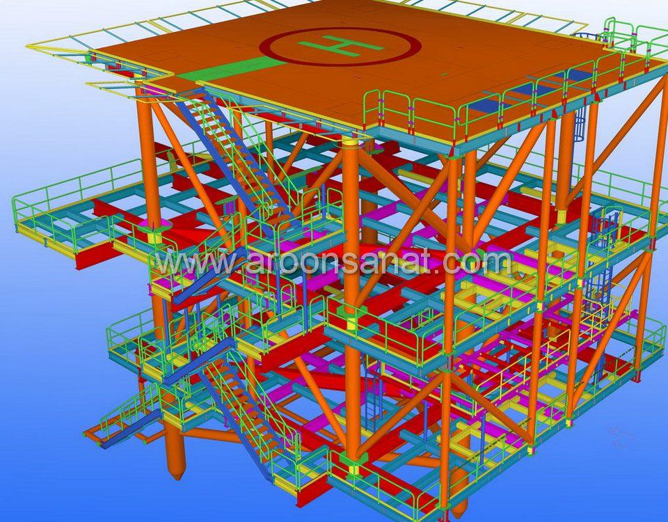 طراحی تا نصب پایپینگ صنعتی