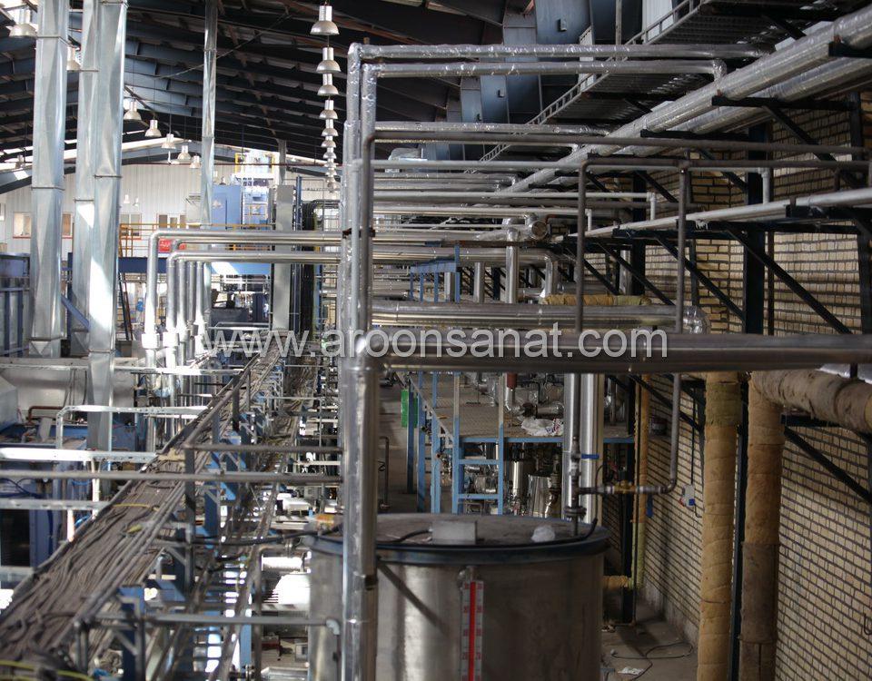 طراحی و اجرای پایپینگ صنعتی استیل