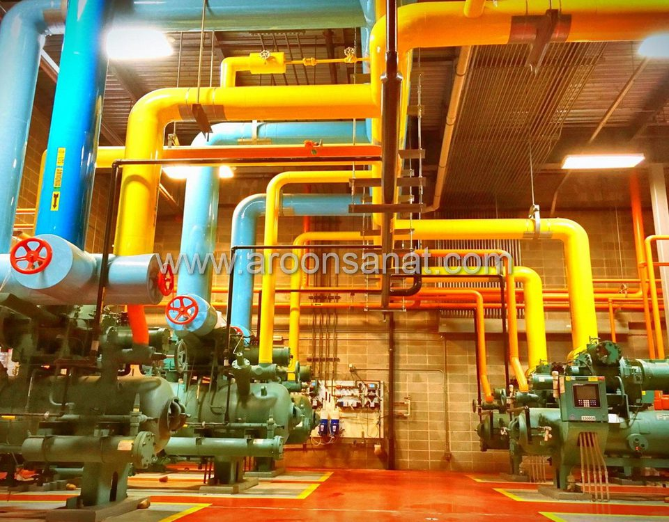 پایپینگ صنعتی کارخانه